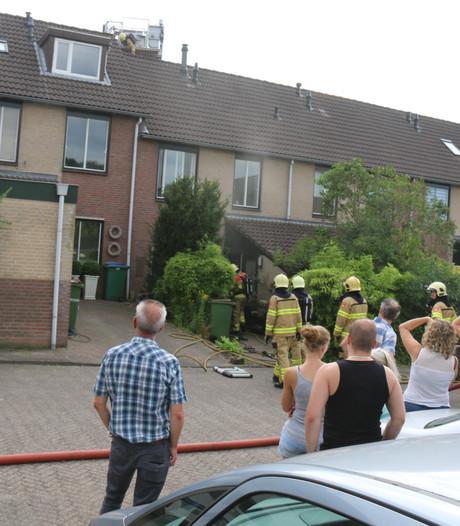 Veel schade door brandende wasdroger in Heelsum