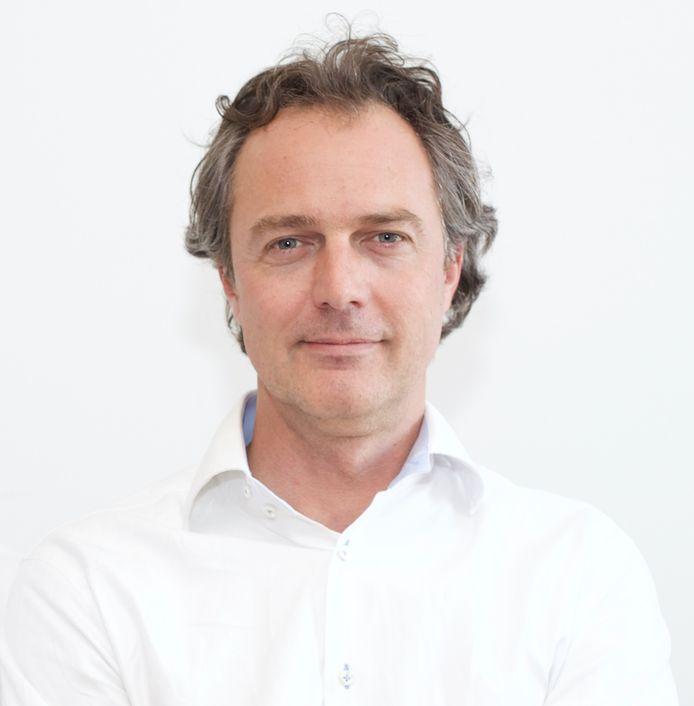 Patrick de Regt, mede-eigenaar van vegetarisch restaurant Digters in Rotterdam.