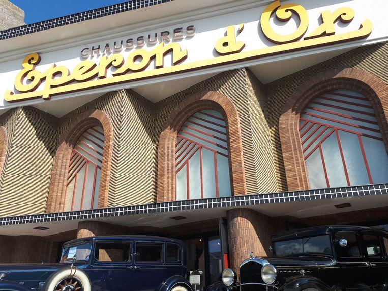 Voor Eperon d'Or pronkten twee oldtimers die bij de vele bezoekers in de smaak vielen