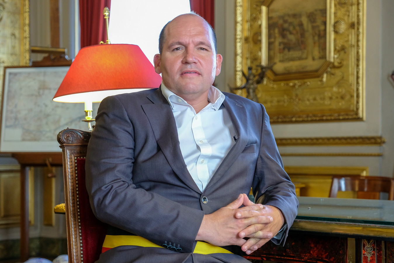 Philippe Close (PS) wil vooroplopen in de organisatie van coronaveilige evenementen.