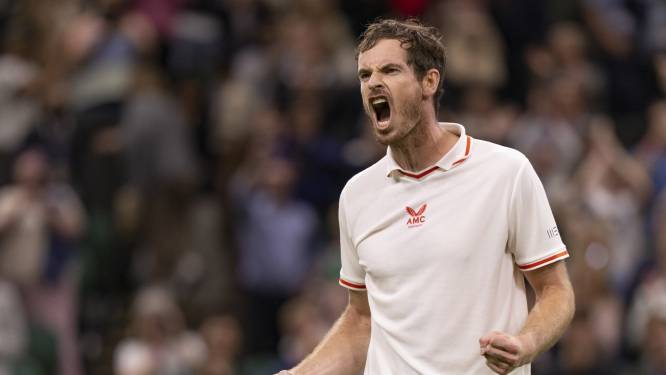 WIMBLEDON. Andy Murray wint bij comeback - Tsitsipas en Stephens mogen meteen koffers pakken - Djokovic had het even lastig tegen jonge Draper