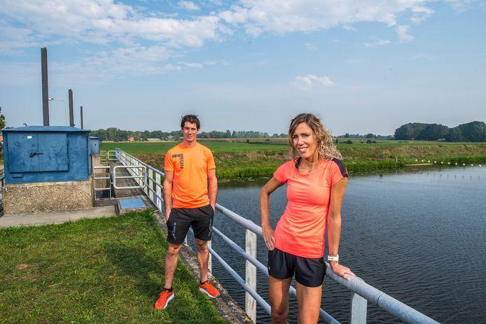 Antoine van Brummelen en Colette Gomez organiseren de Berkel-Loo Loop.