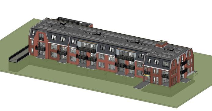 Vriezenveen krijgt er een appartementencomplex bij. Aan het Westeinde 65, waar ooit discotheek Sixty Five gloreerde.