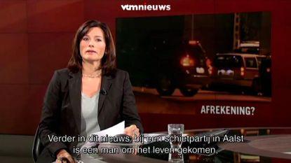 """VIDEO. Birgit Van Mol kon tranen niet bedwingen tijdens deze nieuwsuitzending: """"Enorme steun gekregen"""""""
