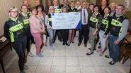Burgemeester schenkt 1.000 euro aan Kom op tegen Kanker