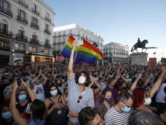 Protesten in Spanje na homofobe aanval op verpleger