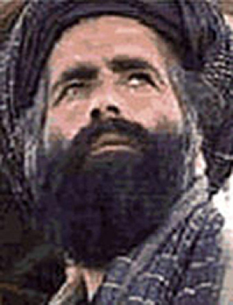 De intussen overleden Mullah Omar. Beeld AFP
