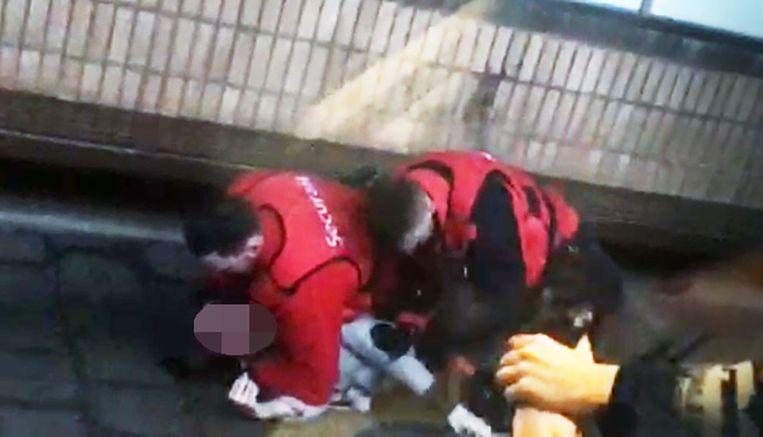 Het incident gebeurde in het station Brussel-Noord