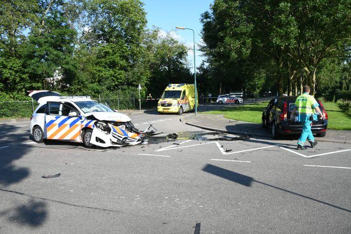 Het ongeluk had plaats op De Bleek in Woerden