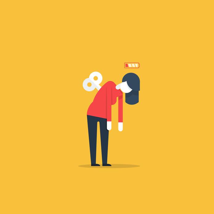 Een 'mental health day' opnemen als je niet lekker in je vel zit, kan ziekte op de langere termijn voorkomen, zegt psycholoog Thijs Launspach.