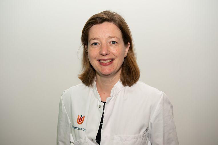 Anika Smeijers, de kinderarts en taalkundige promoveert vandaag op haar onderzoek. Beeld RV