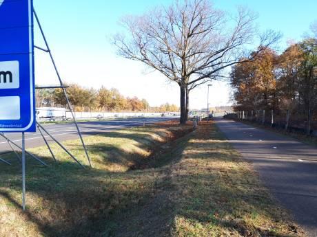 Politie:  A59 bij afslag Kruisstraat niet onveilig