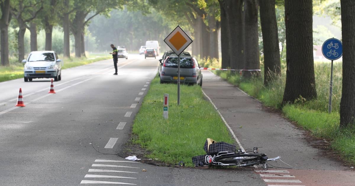 Fietsster ernstig gewond na aanrijding in Elburg.