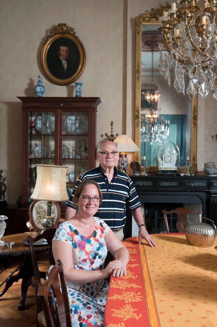 Pauline en Thom van Rijckevorsel zijn blij dat het landgoed nog in de familie is.