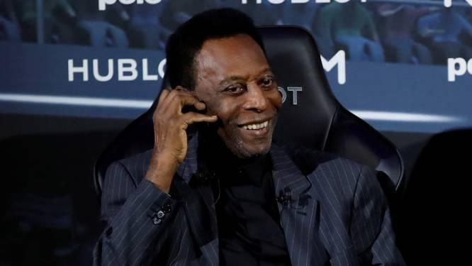 Voetballegende Pelé nog altijd op afdeling intensieve zorg, ook Romario onder het mes