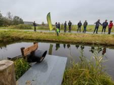 Loper uit voor visotter met een extra passage bij Ossenzijl: 'Steenwijkerland is een voorbeeldgemeente'