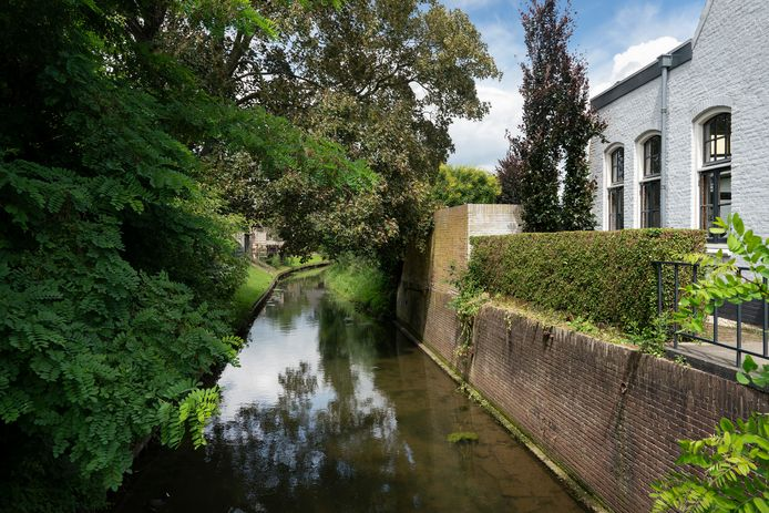 't Oude Maasje aan de Groenstraat in Herpt naast de voormalige melkfabriek. 't Oude Maasje is bij velen geliefd en mag wel 'wat zichtbaarder worden', blijkt uit de enquête.