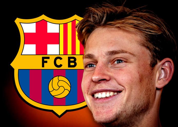 Frenkie de Jong verruilt Ajax komende zomer voor Barcelona.