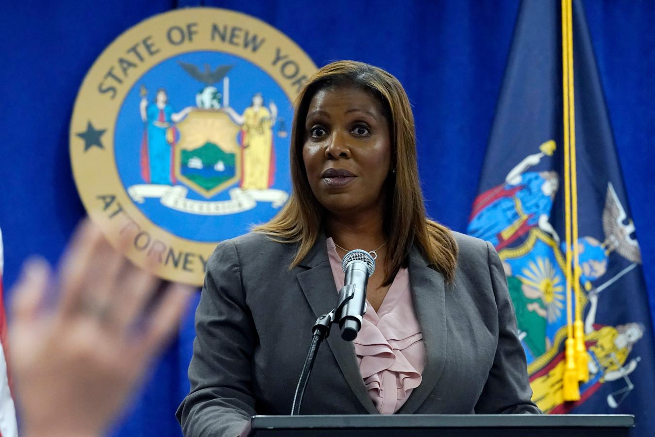 De New Yorkse procureur-generaal Letitia James.