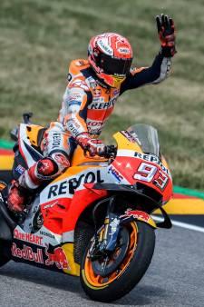 Márquez voor negende keer op rij de beste op Sachsenring