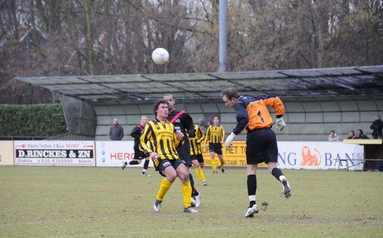 DWV wint thuis tegen FC Omniworld. Foto John Beckman Beeld