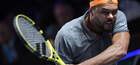 Tsonga verliest bij langverwachte rentree op tennisbaan