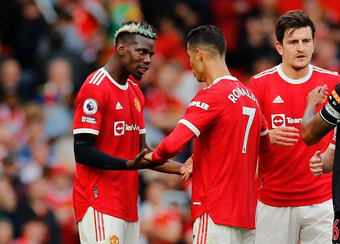 À Old Trafford, Pogba a dû partager la scène avec un certain Cristiano Ronaldo.
