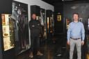 De permanente tentoonstelling (links tegen de wand) blijft.