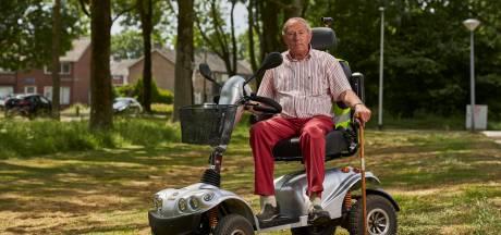 Verdwenen loopkruk kost gehandicapte Wim Jolij loopplezier