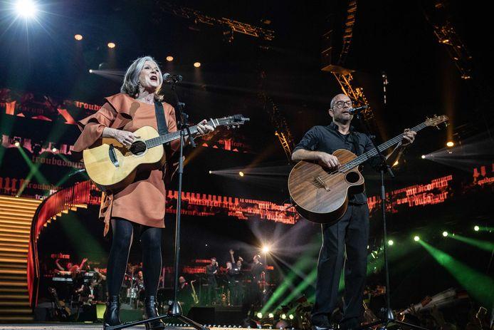 Lenny Kuhr maakte grote indruk in de Ziggo Dome tijdens het Grote Songfestivalfeest.