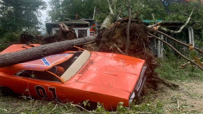 'General Lee' van hoofdrolspeler Dukes of Hazzard zwaar beschadigd door orkaan