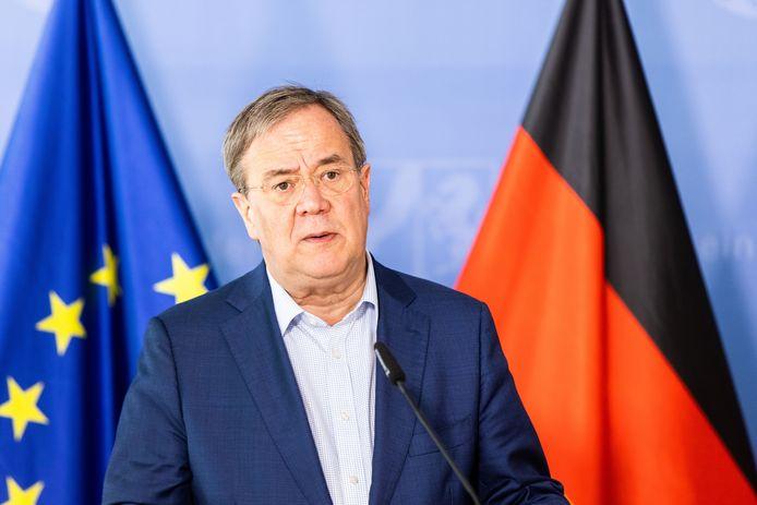 Armin Laschet, partijvoorzitter van het CDU.