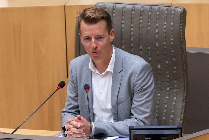 Commissievoorzitter Hannes Anaf (Vooruit).