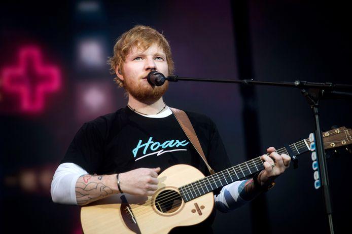 Ed Sheeran is in België de meest gestreamde artiest van de afgelopen 10 jaar.