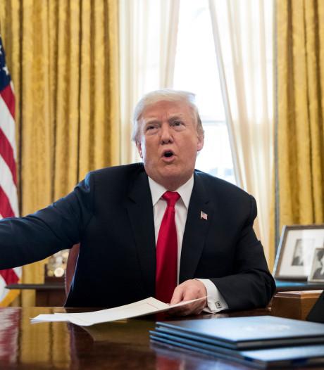 Trump komt met 'belangrijke aankondiging' over shutdown