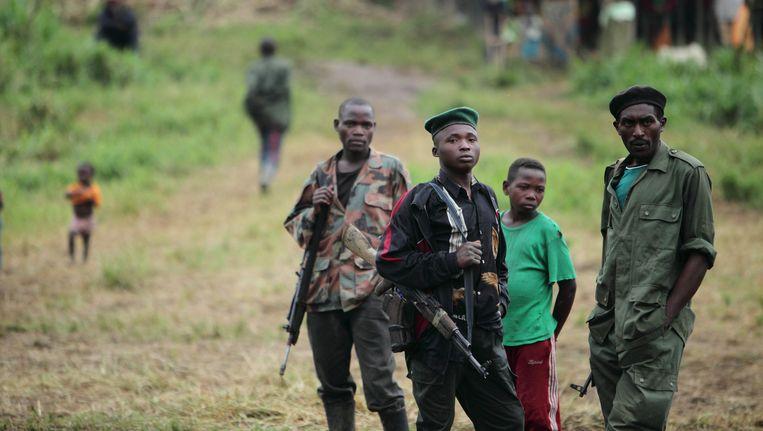 Archieffoto: Rwandese Huturebellen. Beeld AP