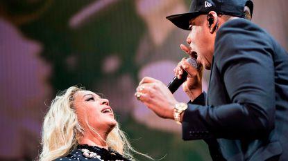 Beyoncé en Jay Z tonen WK-finale voor concert in Frankrijk: publiek in hogere sferen