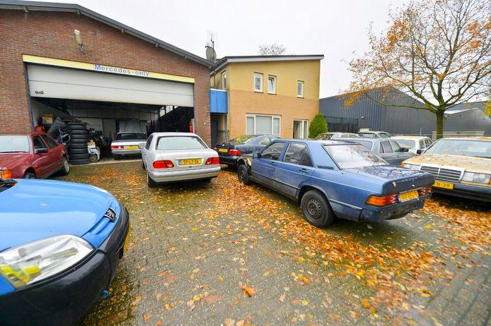 Overval op autogarage in Hapert.