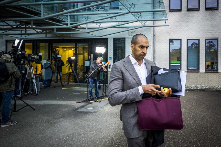 Advocaat Gerald Roethof bij de rechtbank van Maastricht. Beeld ANP