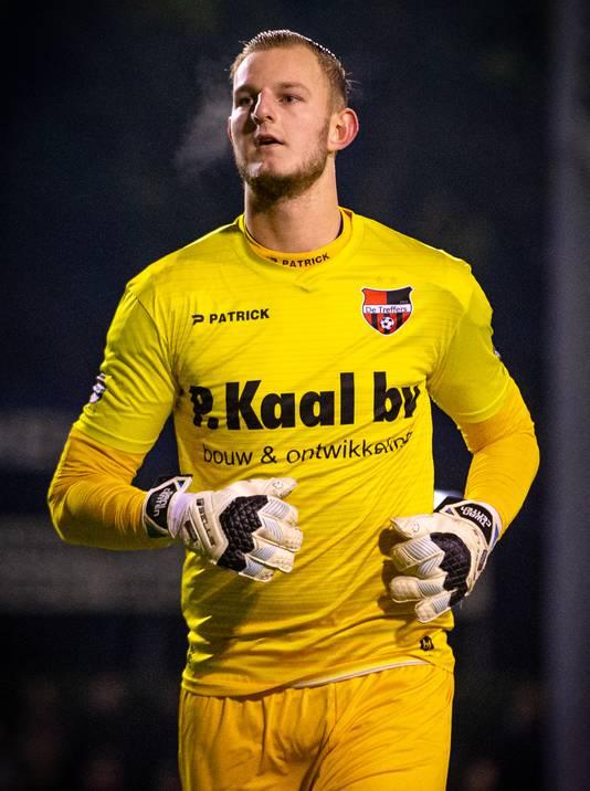 Dani Centen genoot volop van de bekerwedstrijd tegen FC Twente.