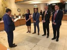 Nieuwe wethouders in Uden geïnstalleerd