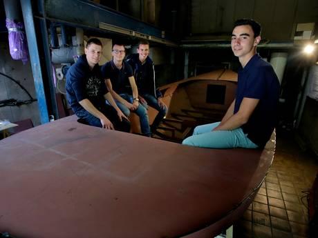 Studenten beleven droom op botenbeurs HISWA
