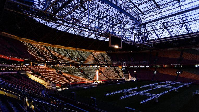 De gemeente Amsterdam heeft 48 procent van de aandelen in de Amsterdam Arena Beeld anp