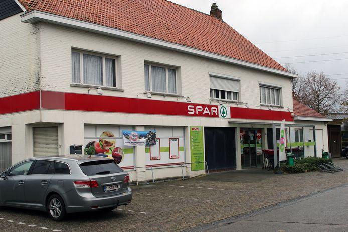 De Spar-supermartk sluit zaterdag.
