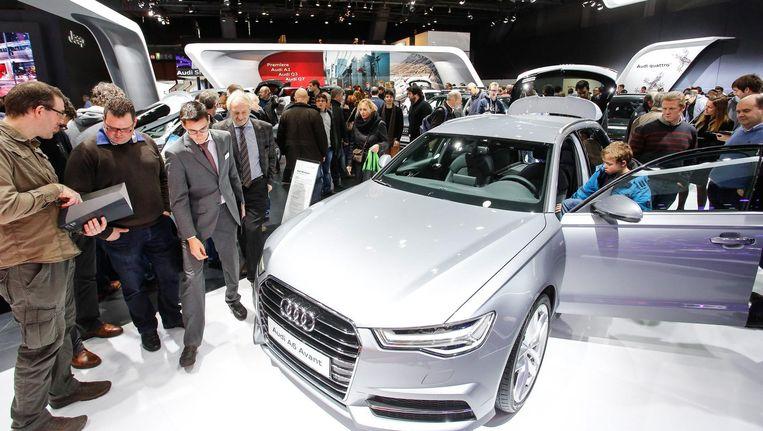 De Audi A6 Avant. Beeld anp
