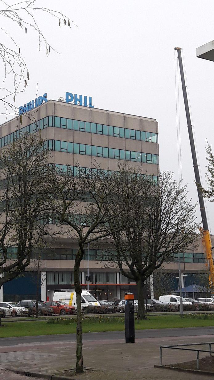 De naam Philips verdwijnt ook van het Microlab aan de Kastanjelaan op Strijp-S in Eindhoven
