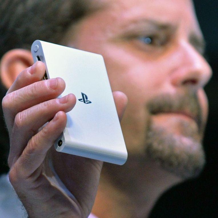 De PS Vita TV. Beeld AFP