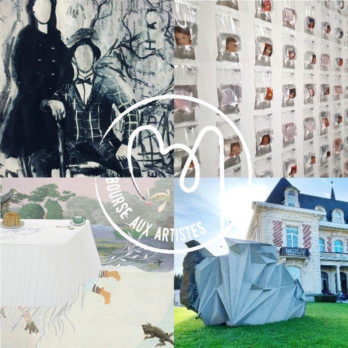 Une bourse aux artistes a été lancée dans le Hainaut