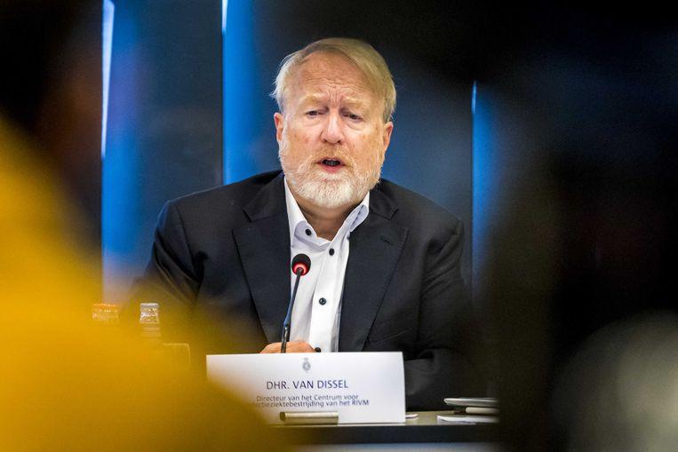 RIVM-baas Jaap van Dissel. Beeld ANP