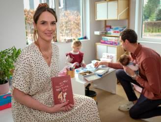 Elle De Leeuw (34) zet tweede dochtertje én eerste boek op de wereld: 'Bij mij zou het niet waar zijn'